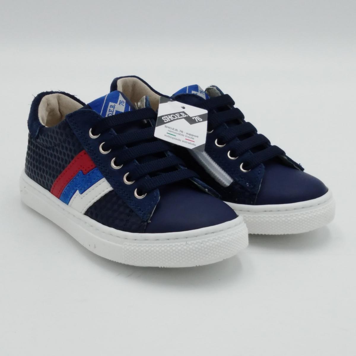 SHOEB 76 -Sneaker lacci blu...