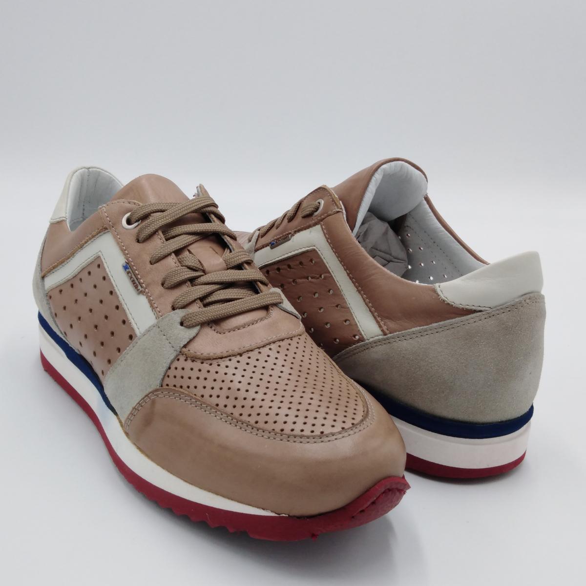 Exton -Sneaker uomo lacci...
