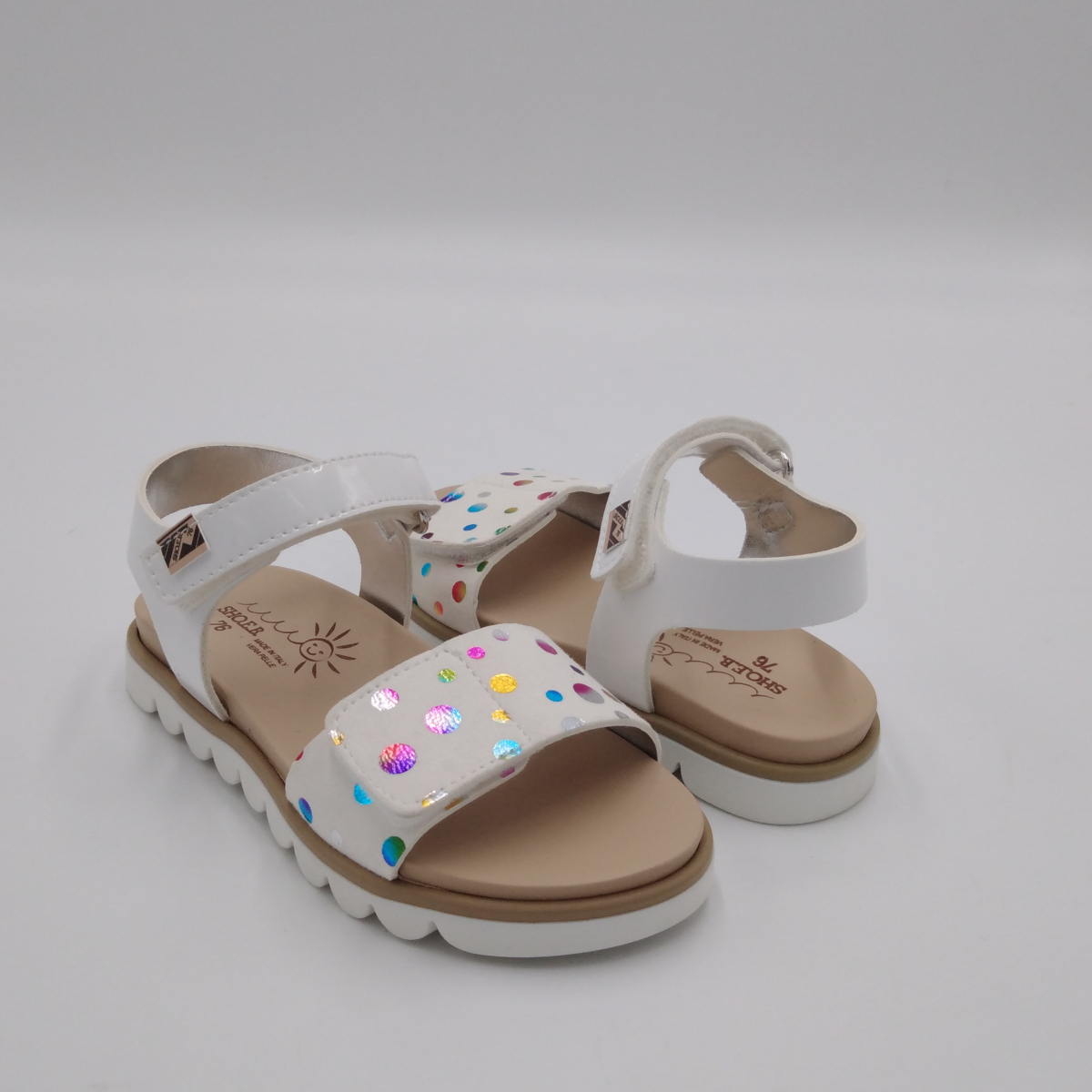 SHOEB 76 -Sandalo bianco...