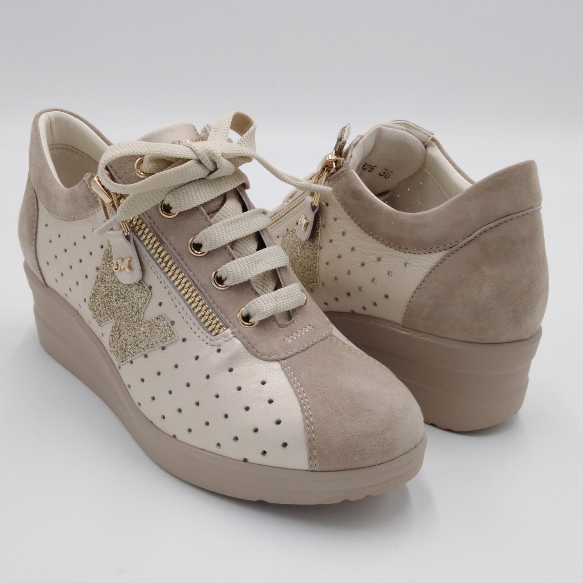 Melluso -Sneaker lacci e...