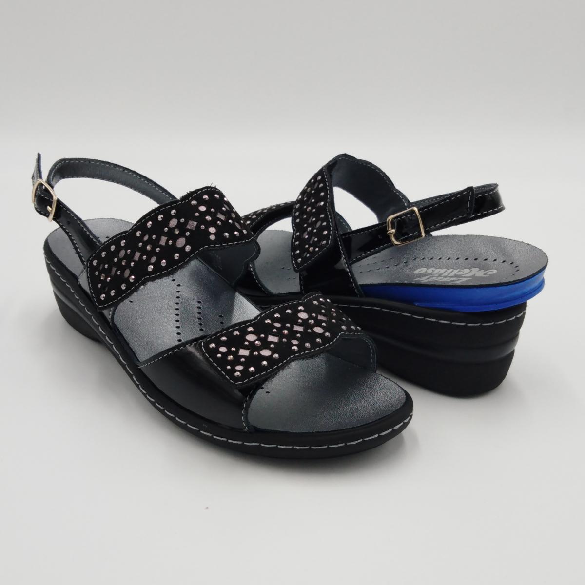 Melluso -Sandalo strappi...
