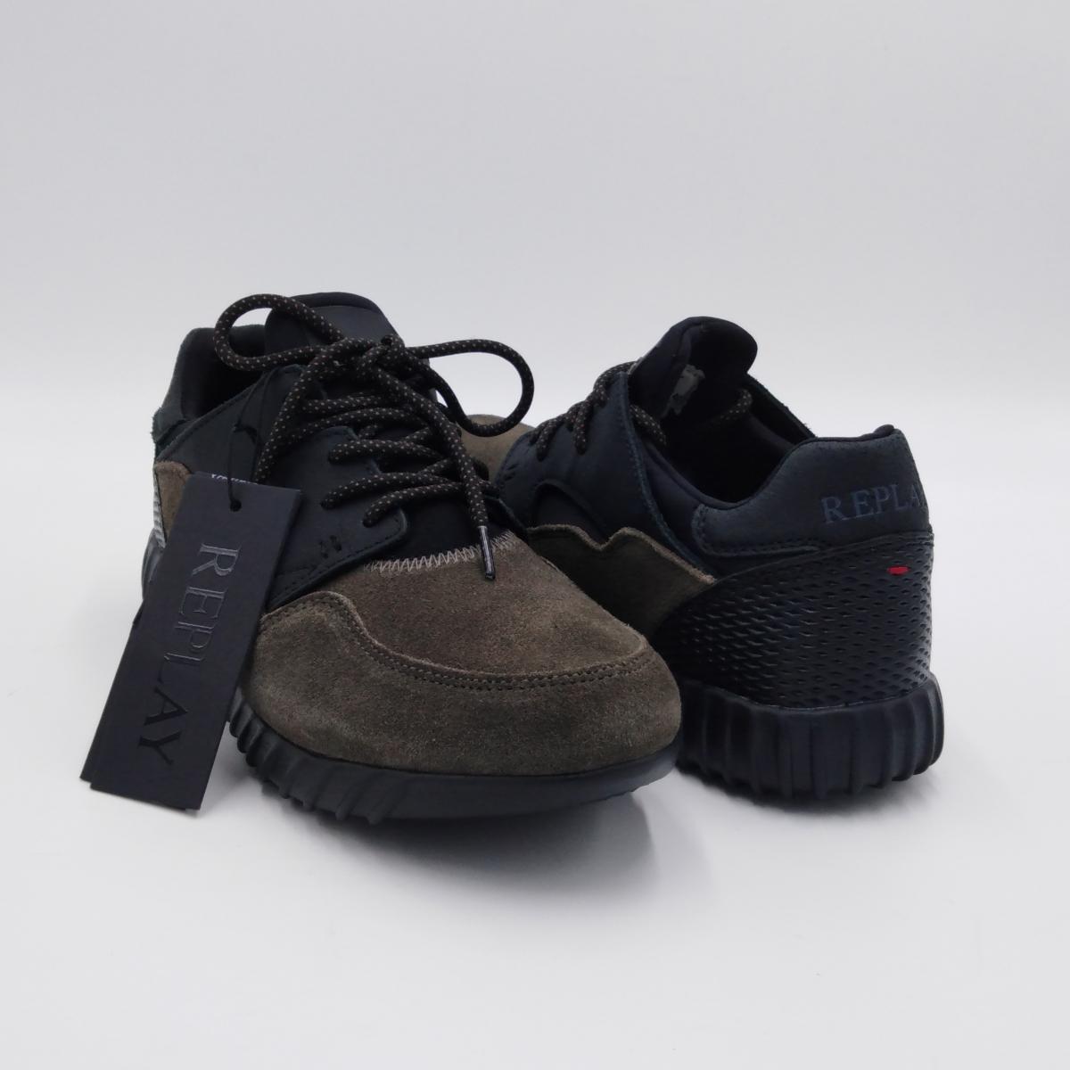 Replay -Sneaker uomo grigio...