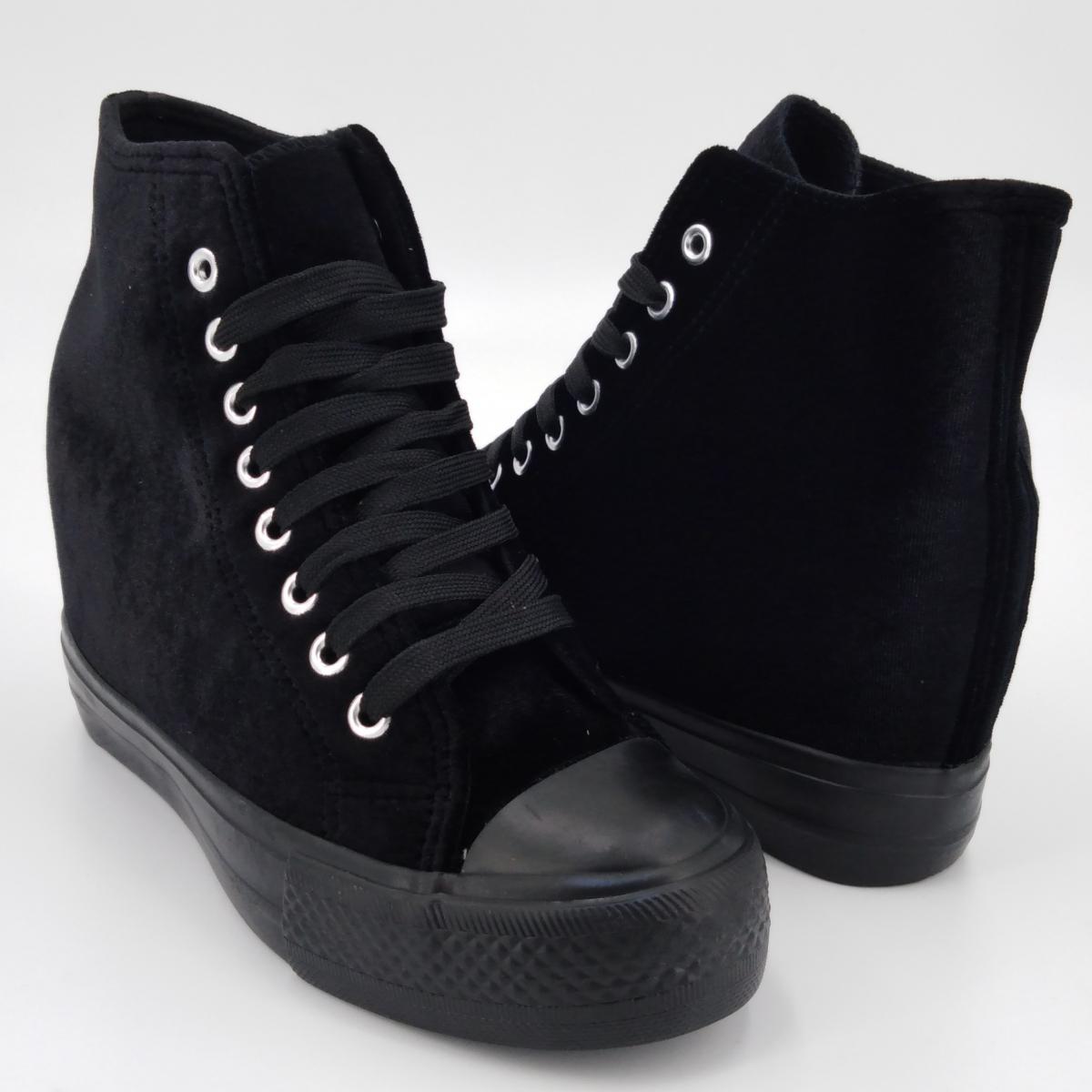 Cristin -Sneaker velluto...