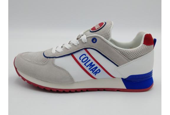 Colmar Sneaker Uomo Travis Runner 217 White