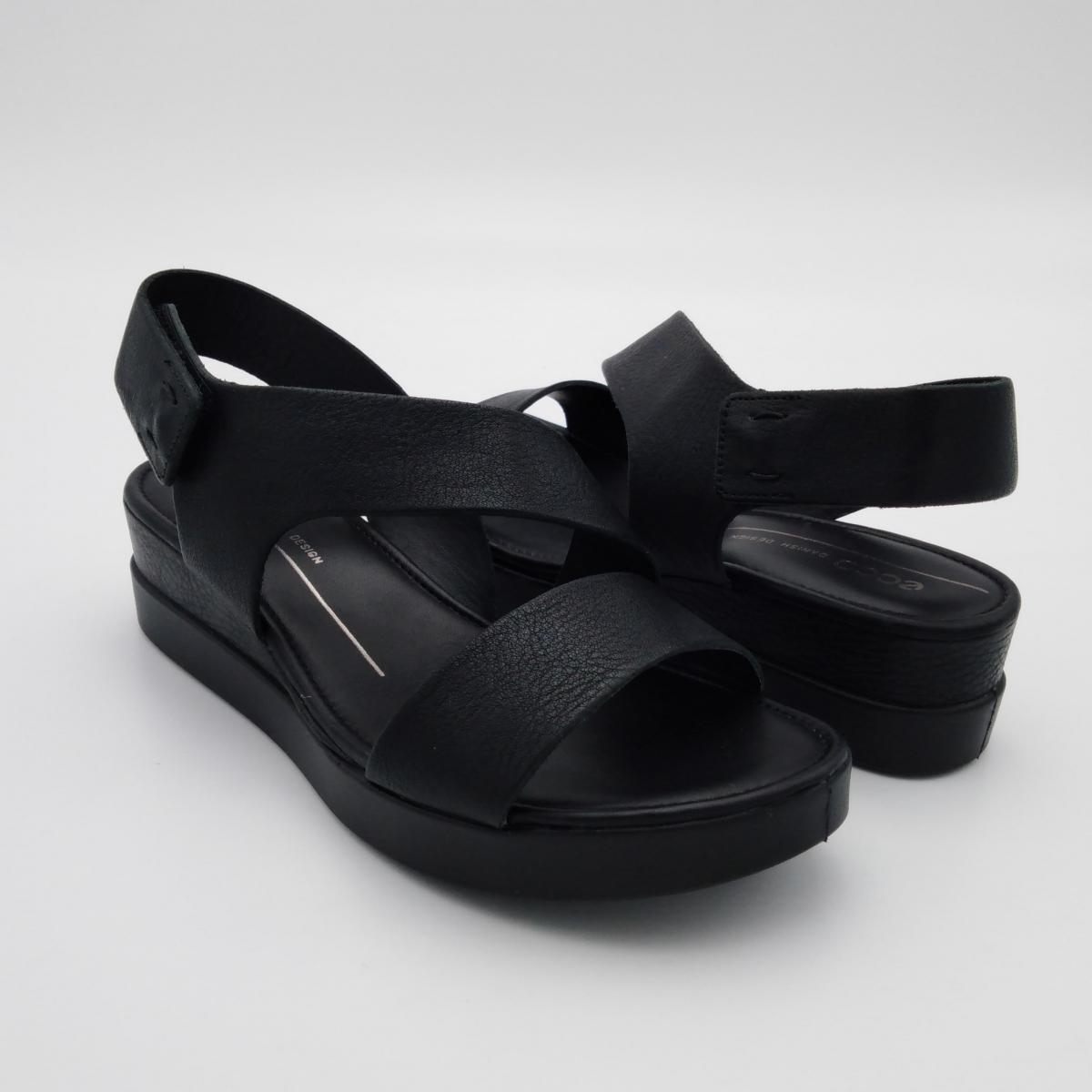 Ecco Touch -Sandalo zeppa...