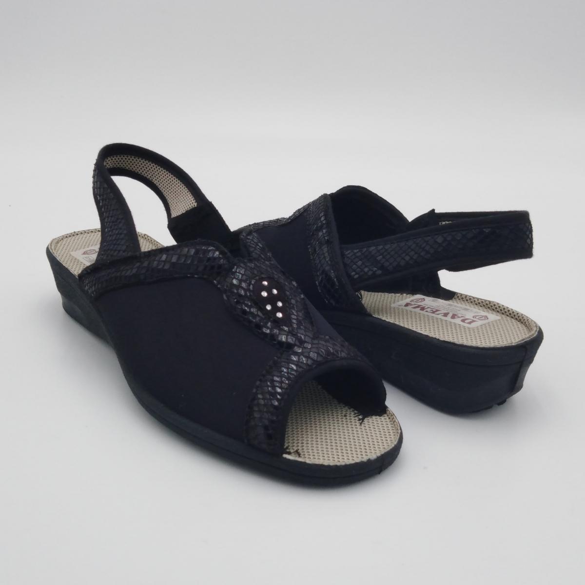 Davema -Sandalo donna nero...