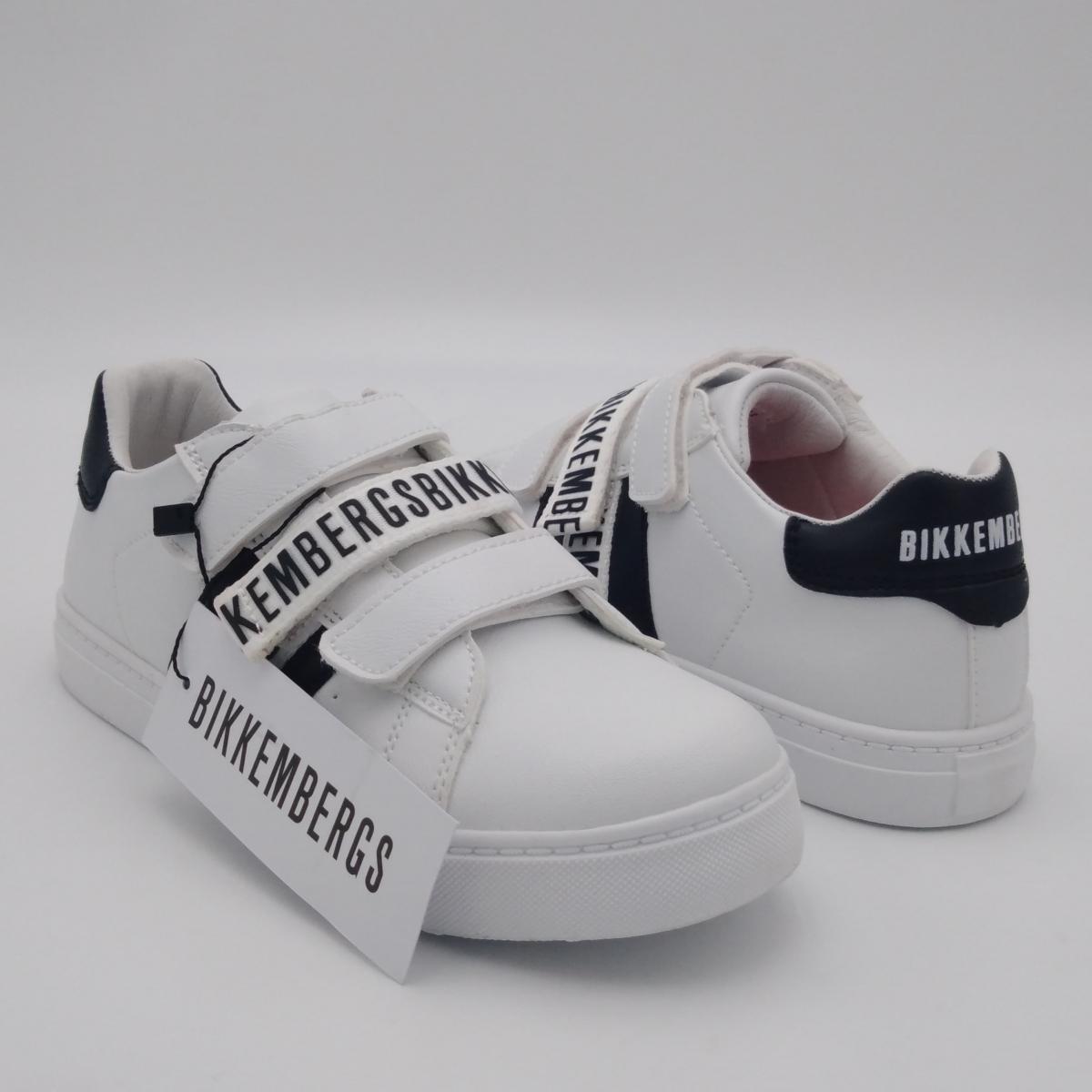 Bikkembergs -Sneaker pelle...