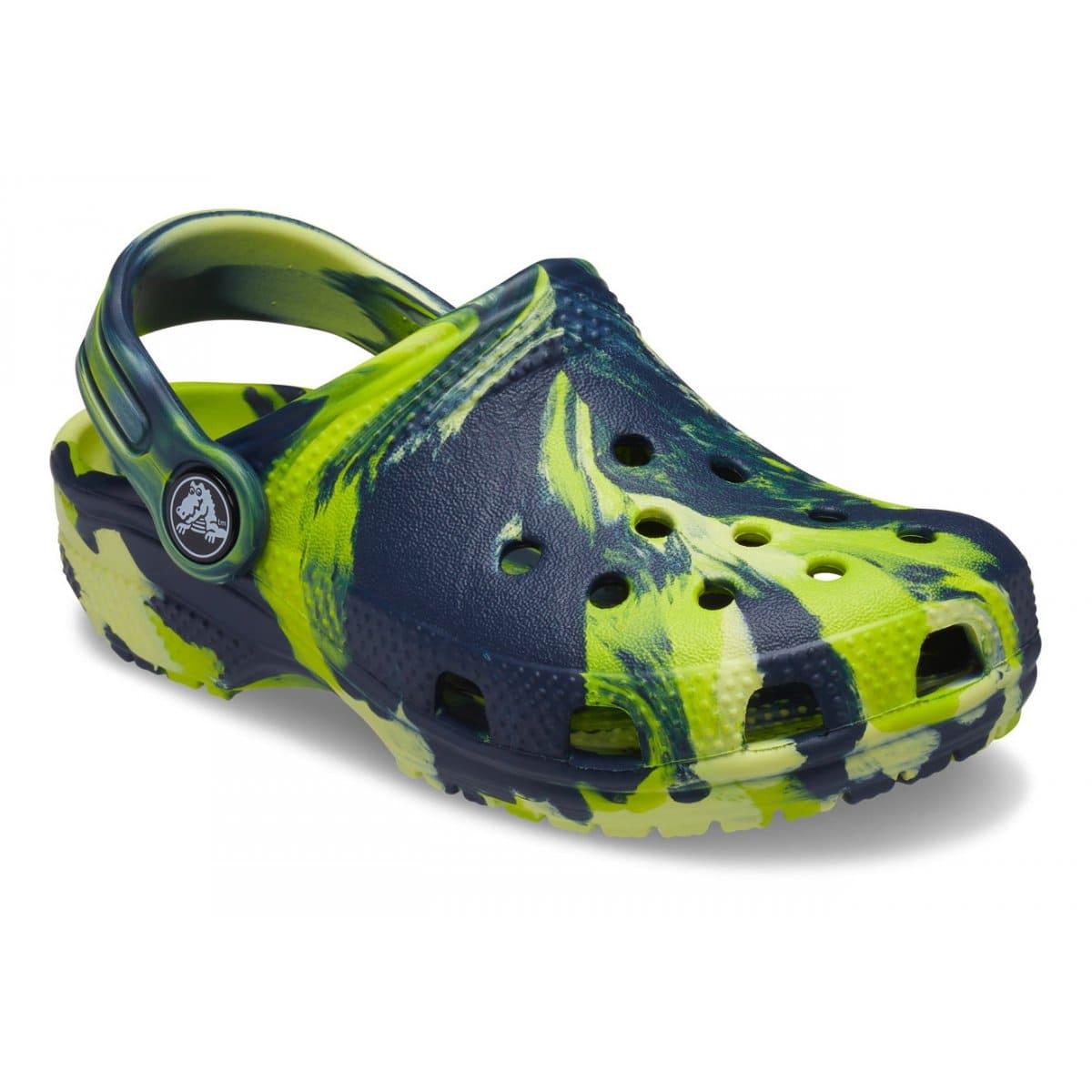 Crocs Classic Marbled Clog...