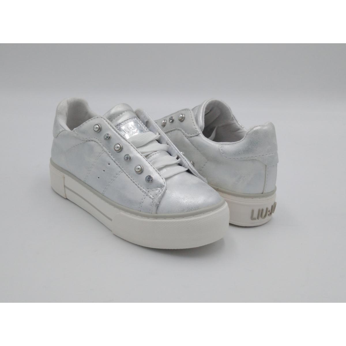 Liu Jo -Sneaker Lacci Argento
