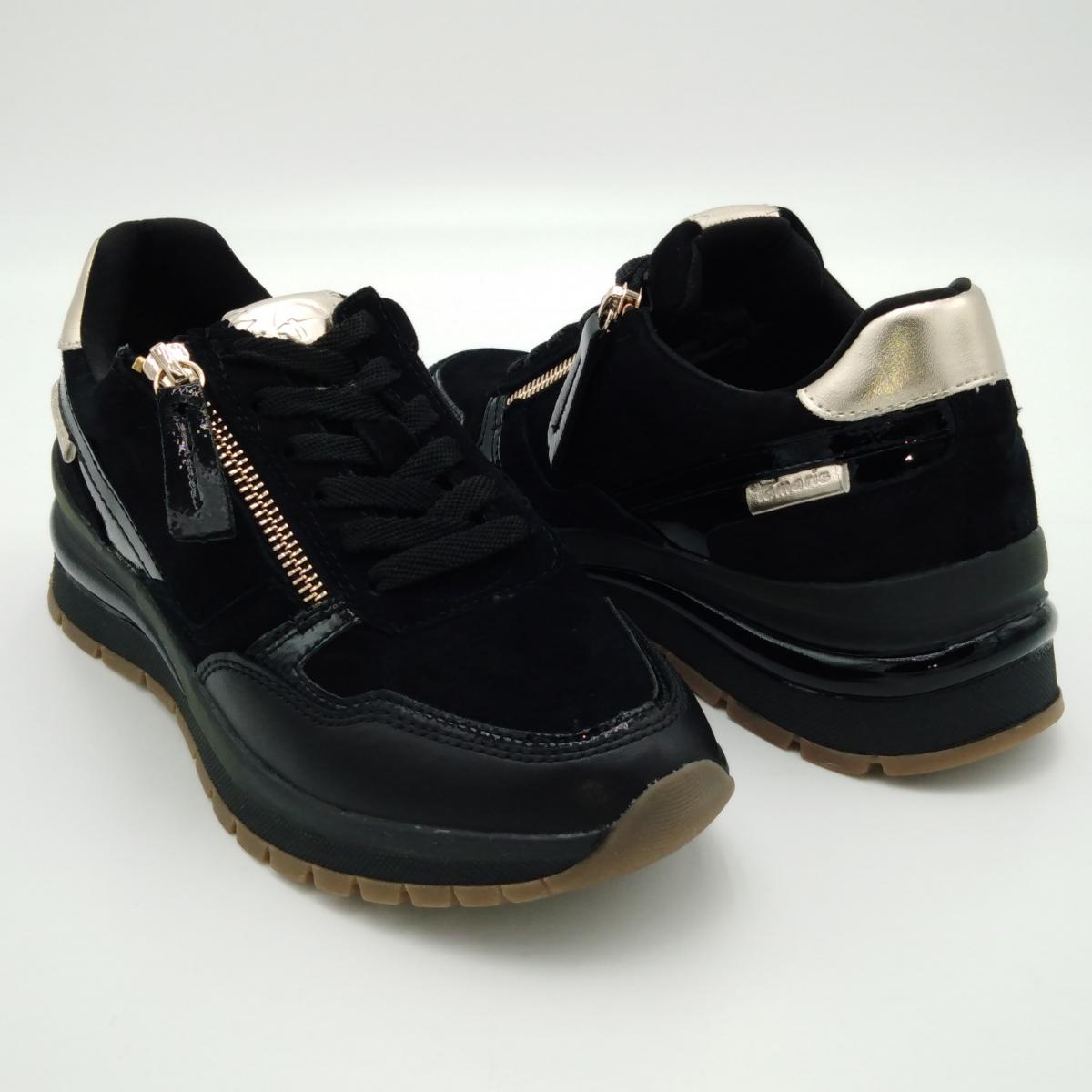 Tamaris -Sneaker lacci nero...