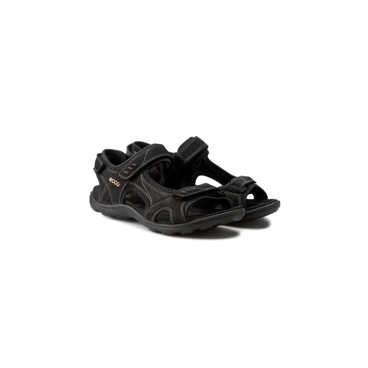 Sandalo Strappi Kana Black...