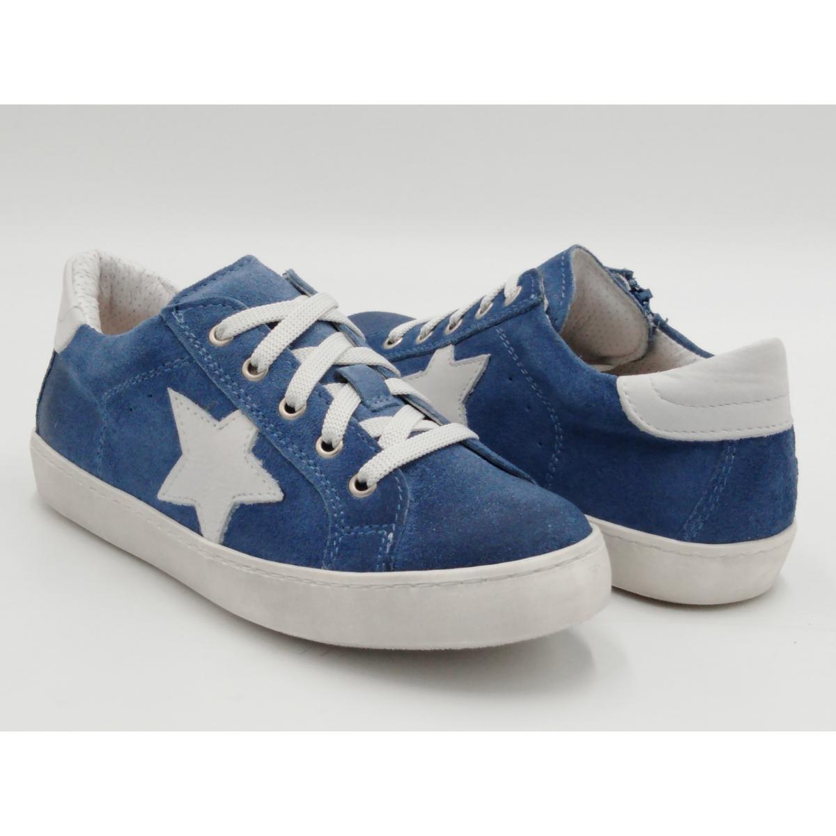 Sneaker Lacci Camoscio...