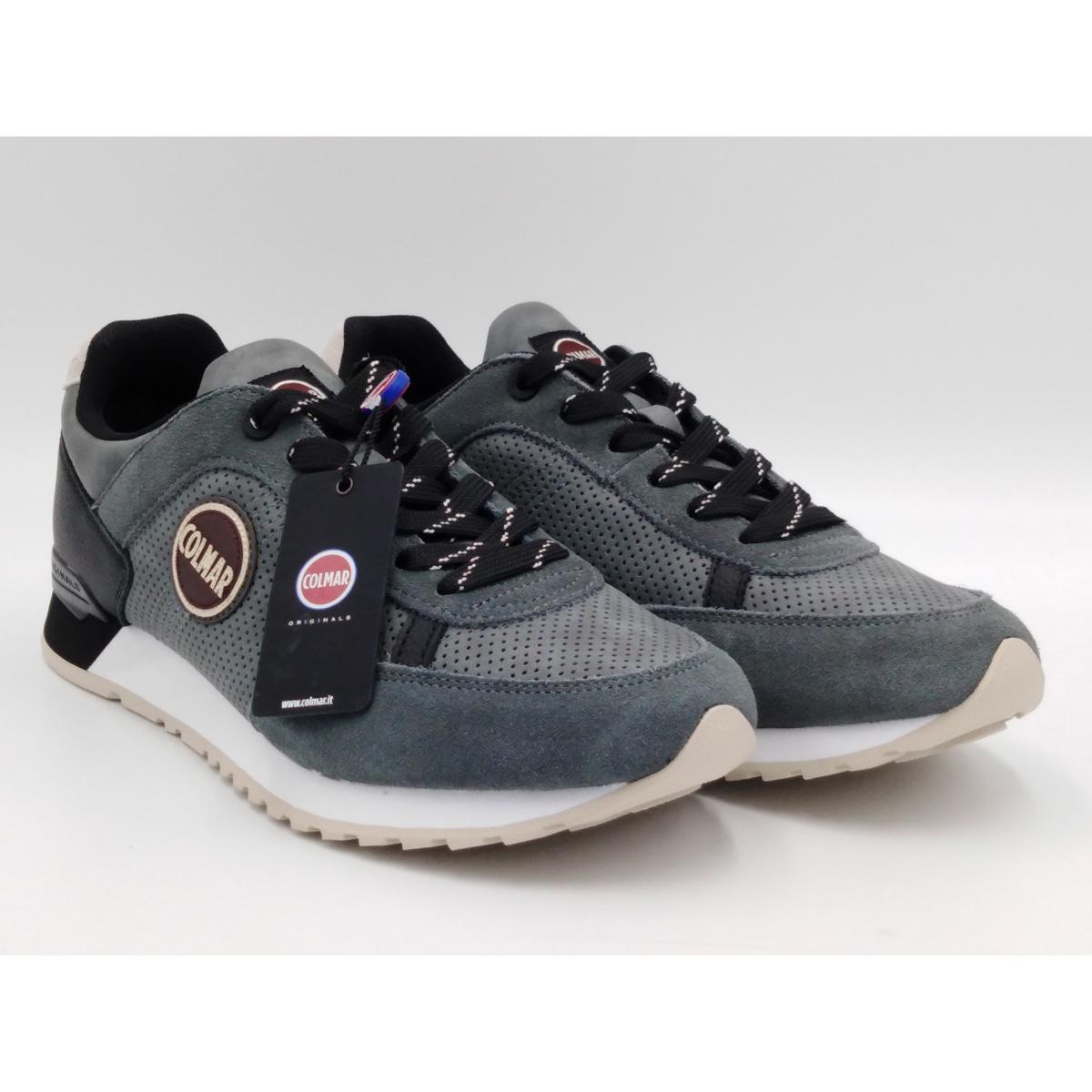 Colmar Travis Drill 016 Grigio Sneaker Uomo Lacci