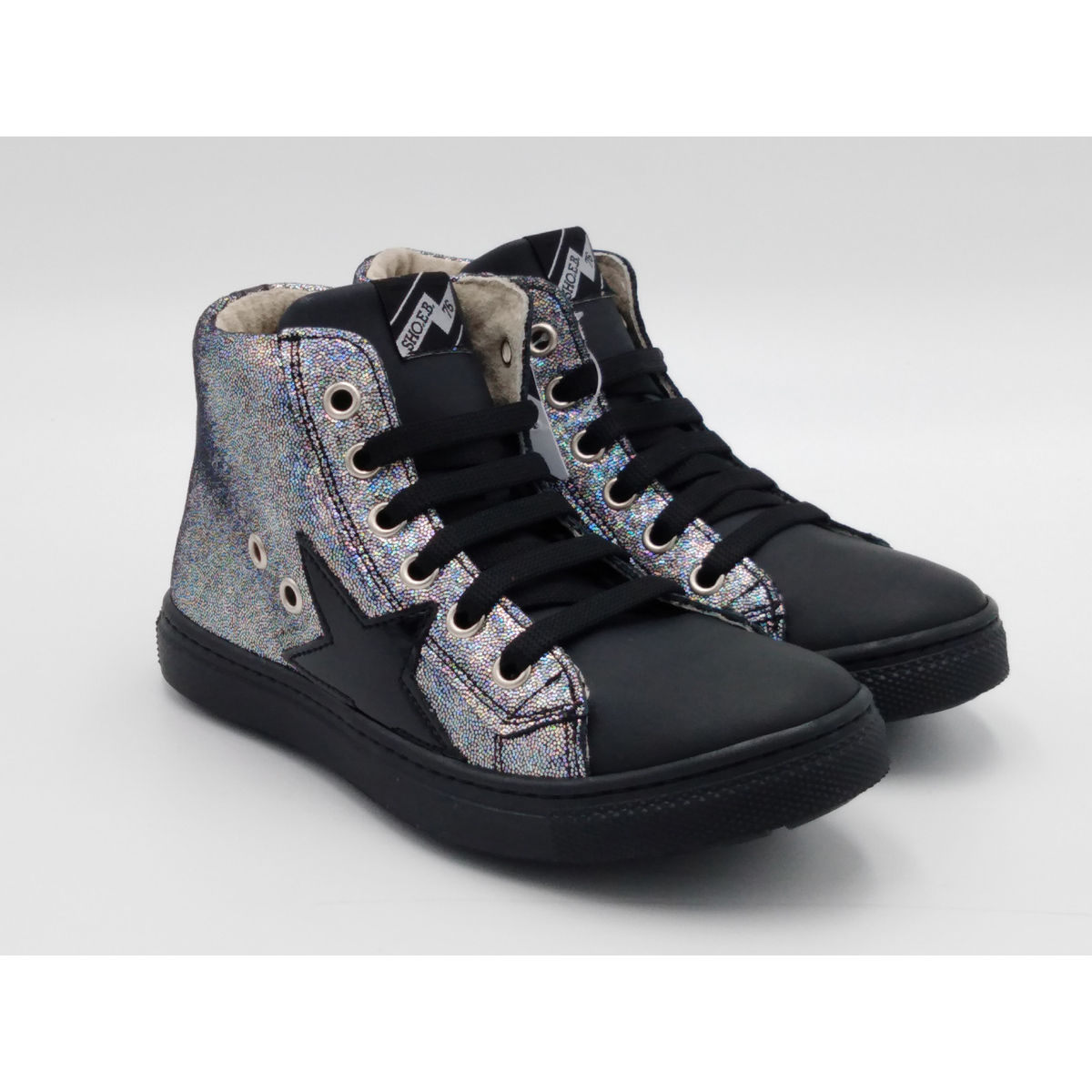 SHOE B 76 -Sneaker lacci...