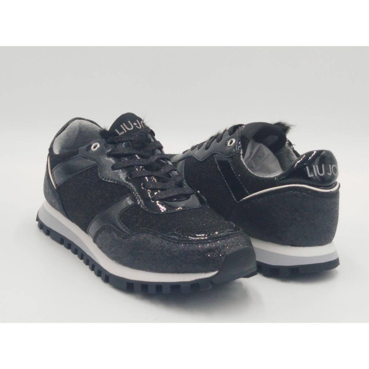 Liu Jo -Sneaker glitter nero