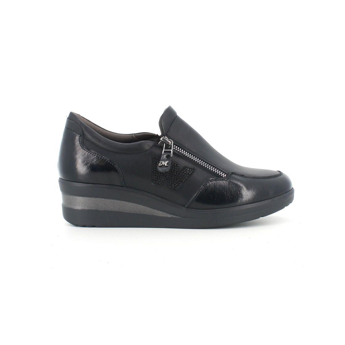 Melluso -Sneaker nappa nera...