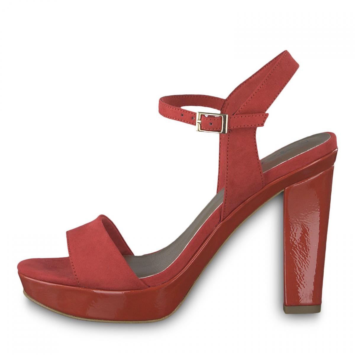 Tamaris -Sandalo camoscio...