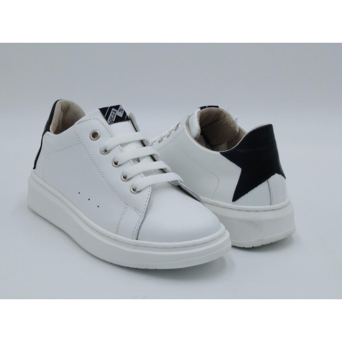 SHOEB 76 Sneaker bianca lacci